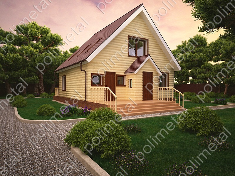 Фото домов до 100 метров
