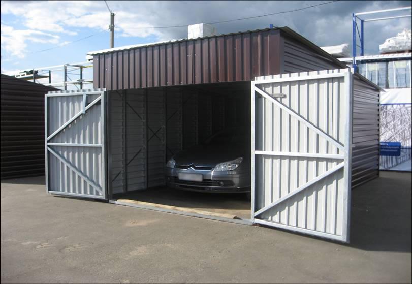 Чем обшить каркасный гараж снаружи