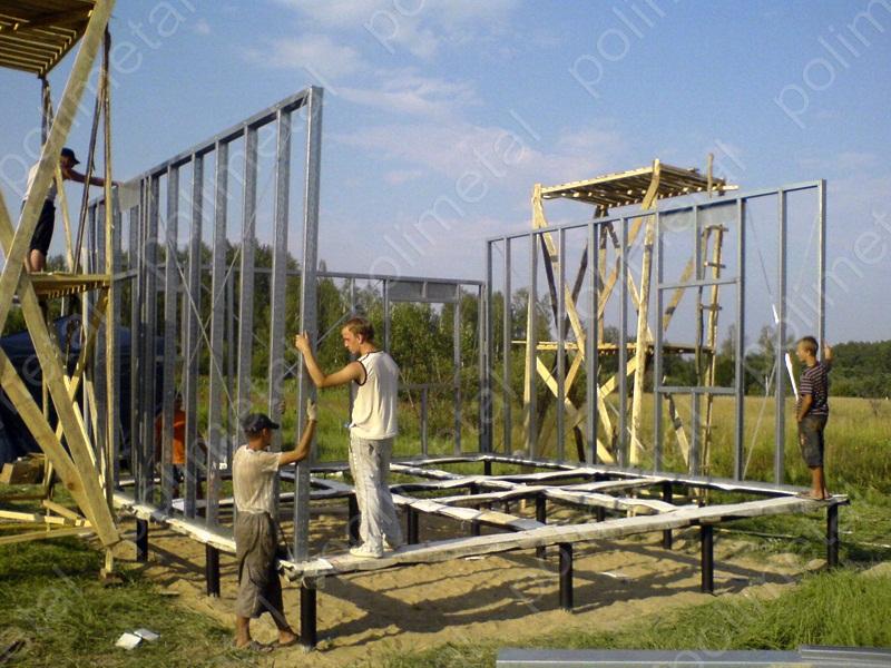 Металлокаркасное строительство своими руками 23